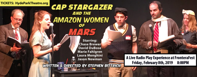 Cap Stargazer and the Amazon Women of Mars Episode 1 by Stephen Bittrich