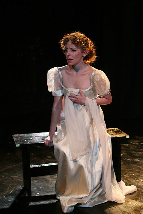 """Stephanie Cozart in the one-act """"The Proposal"""" by Stephen Bittrich"""